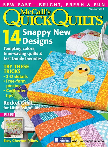 McCall's Quick Quilts Cover - 4/1/2013