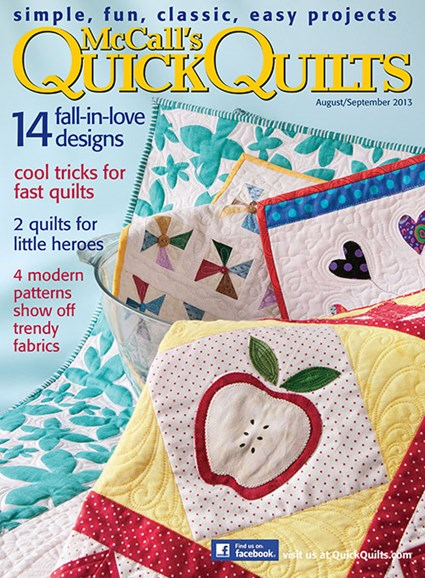 McCall's Quick Quilts Cover - 8/1/2013