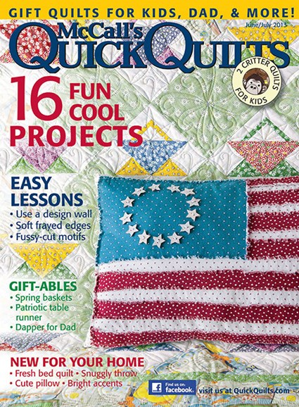 McCall's Quick Quilts Cover - 6/1/2013