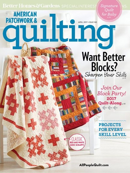 American Patchwork & Quilting Cover - 4/1/2017