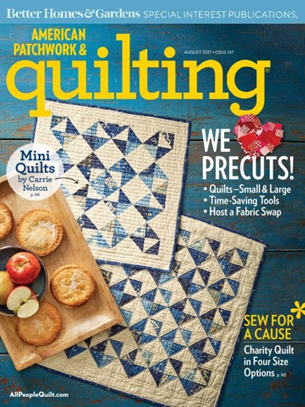 American Patchwork & Quilting Cover - 8/1/2017