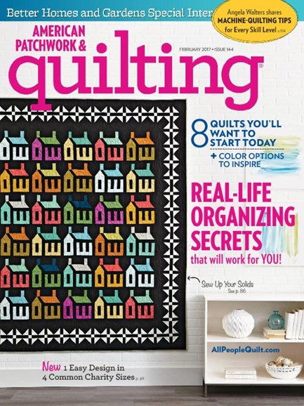 American Patchwork & Quilting Cover - 2/1/2017