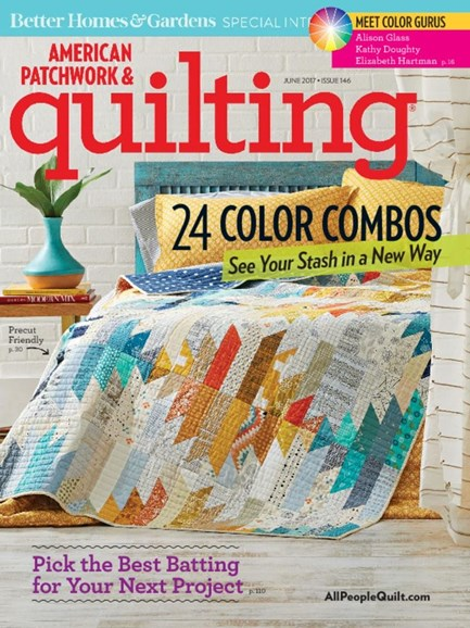 American Patchwork & Quilting Cover - 6/1/2017
