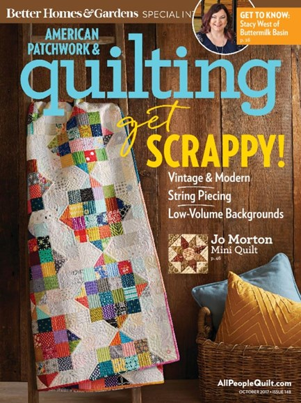 American Patchwork & Quilting Cover - 10/1/2017