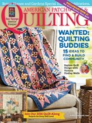American Patchwork & Quilting Magazine 4/1/2016