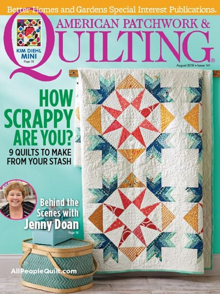 American Patchwork & Quilting Cover - 8/1/2016