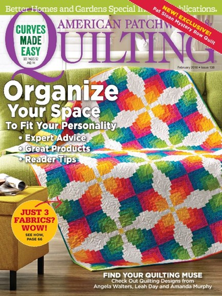 American Patchwork & Quilting Cover - 2/1/2016