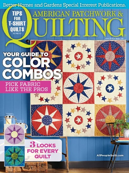 American Patchwork & Quilting Cover - 6/1/2016