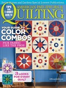 American Patchwork & Quilting Magazine 6/1/2016