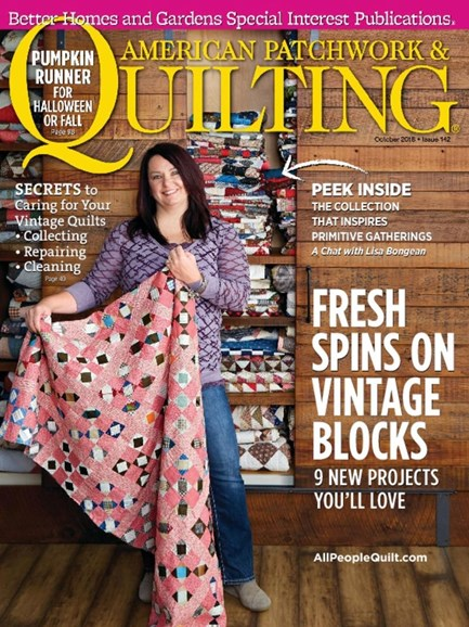 American Patchwork & Quilting Cover - 10/1/2016