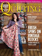 American Patchwork & Quilting Magazine 10/1/2016