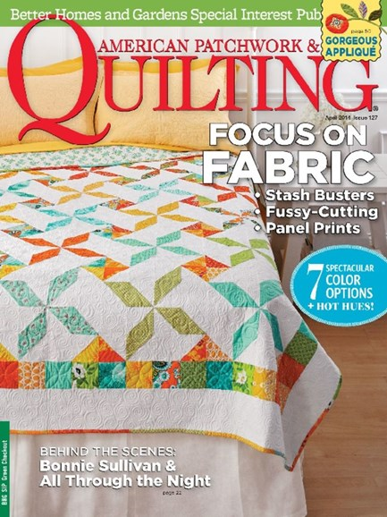 American Patchwork & Quilting Cover - 4/1/2014