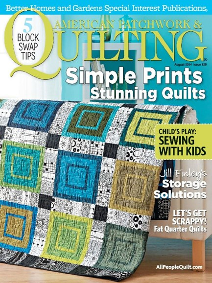American Patchwork & Quilting Cover - 8/1/2014