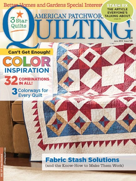 American Patchwork & Quilting Cover - 6/1/2014