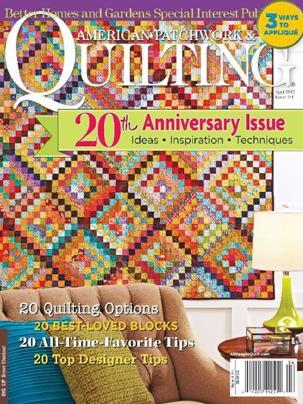 American Patchwork & Quilting Cover - 4/1/2013