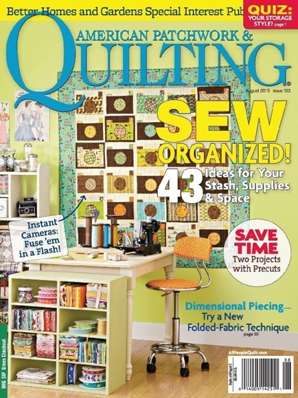 American Patchwork & Quilting Cover - 8/1/2013
