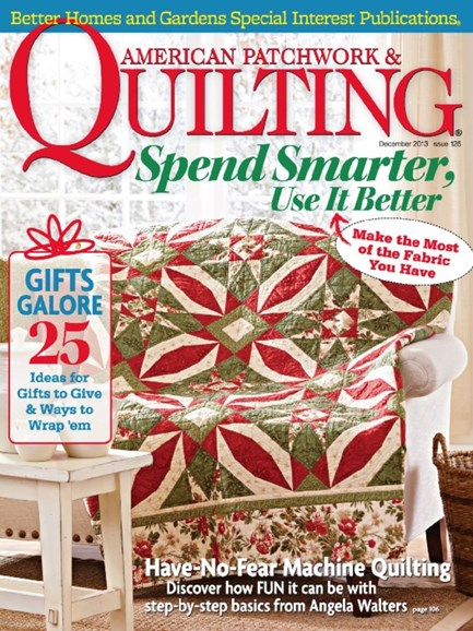 American Patchwork & Quilting Cover - 12/1/2013