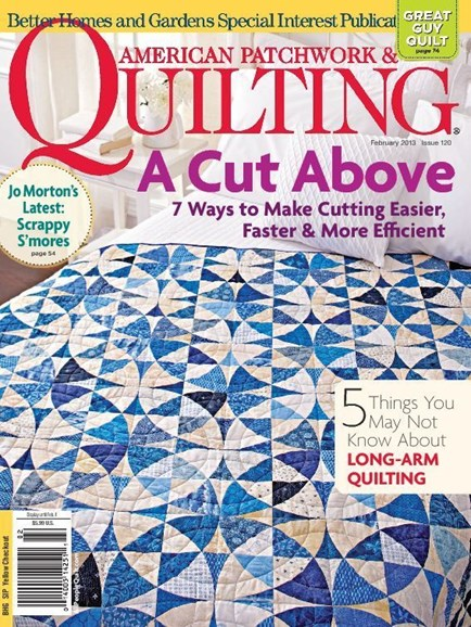 American Patchwork & Quilting Cover - 2/1/2013