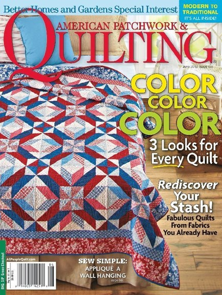 American Patchwork & Quilting Cover - 6/1/2013