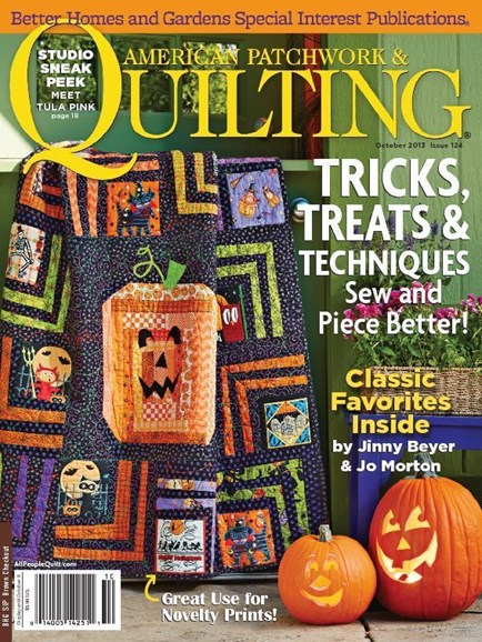 American Patchwork & Quilting Cover - 10/1/2013