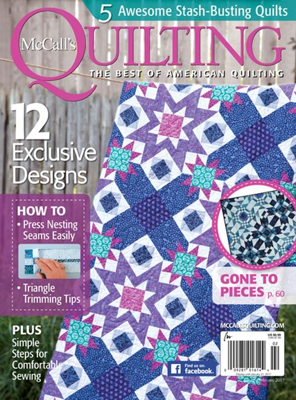 McCall's Quilting Cover - 1/1/2017