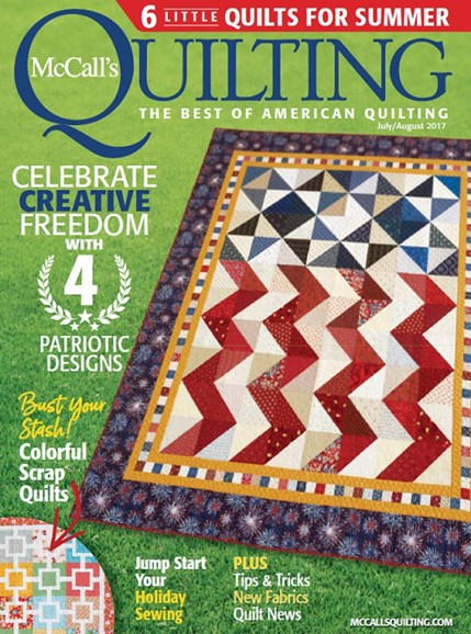 McCall's Quilting Cover - 7/1/2017
