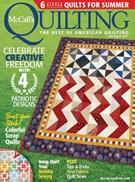 Mccall's Quilting Magazine 7/1/2017