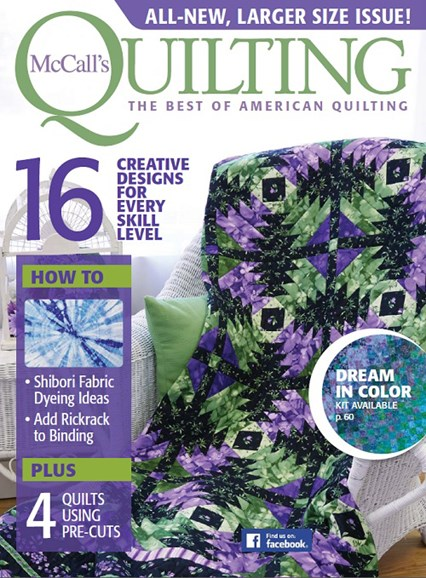 McCall's Quilting Cover - 3/1/2017