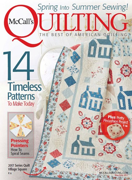 McCall's Quilting Cover - 5/1/2017