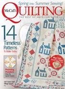 Mccall's Quilting Magazine 5/1/2017