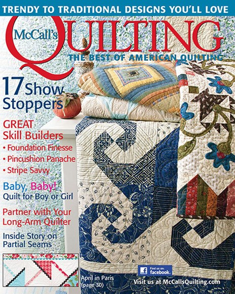 McCall's Quilting Cover - 3/1/2014
