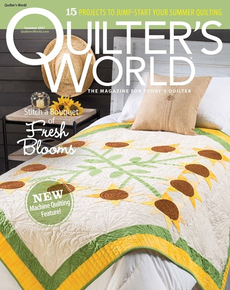 Quilter's World Cover - 6/1/2017