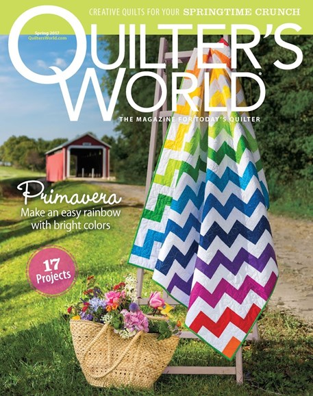 Quilter's World Cover - 3/1/2017