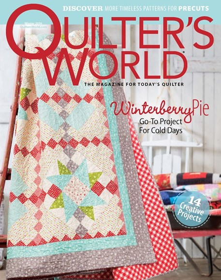Quilter's World Cover - 12/1/2016