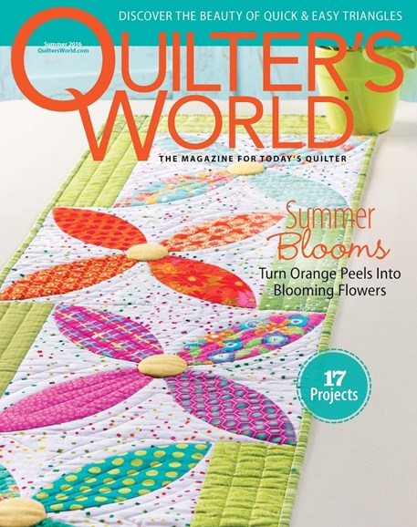 Quilter's World Cover - 6/1/2016