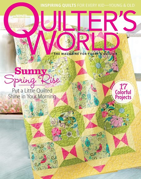 Quilter's World Cover - 3/1/2016