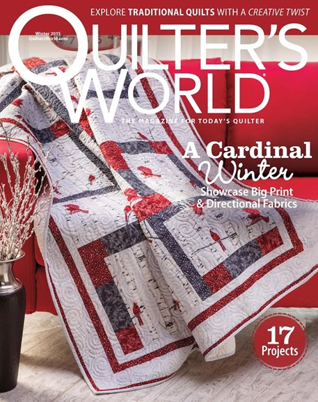 Quilter's World Cover - 12/1/2015