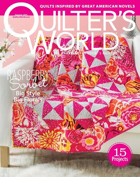 Quilter's World Cover - 6/1/2015