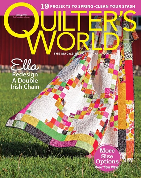 Quilter's World Cover - 3/1/2015