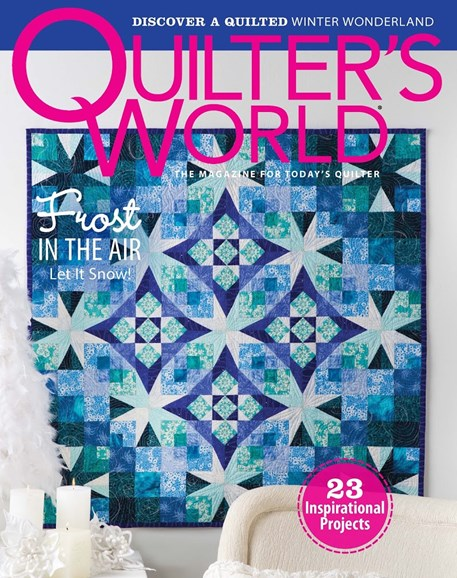 Quilter's World Cover - 12/1/2014