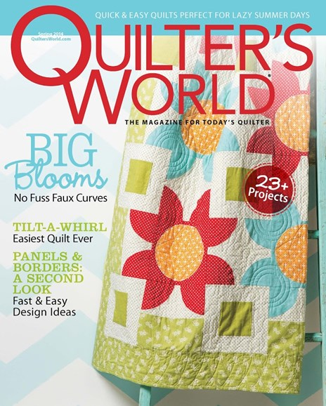 Quilter's World Cover - 3/1/2014