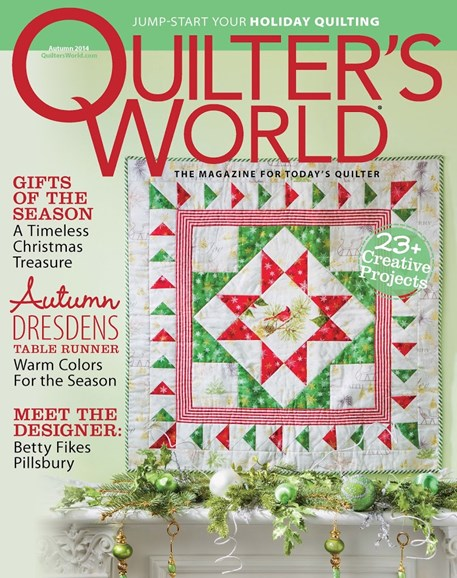 Quilter's World Cover - 9/1/2014