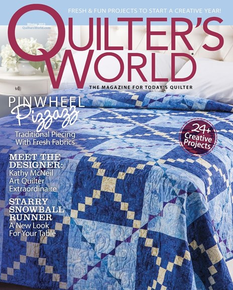 Quilter's World Cover - 12/1/2013