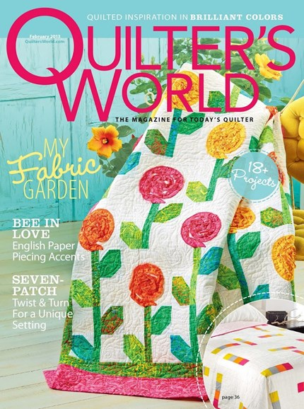 Quilter's World Cover - 2/1/2013