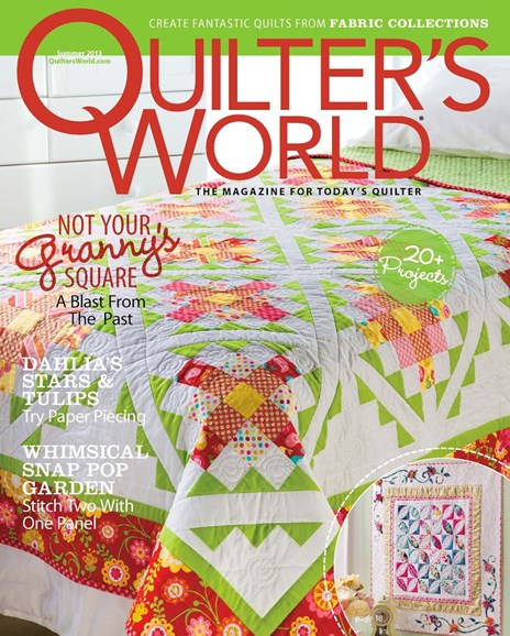 Quilter's World Cover - 6/1/2013