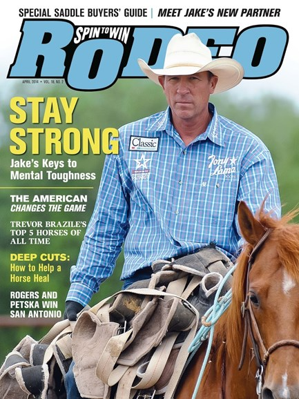 The Team Roping Journal Cover - 4/1/2014