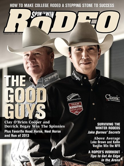 The Team Roping Journal Cover - 2/1/2014