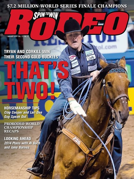 The Team Roping Journal Cover - 1/1/2014