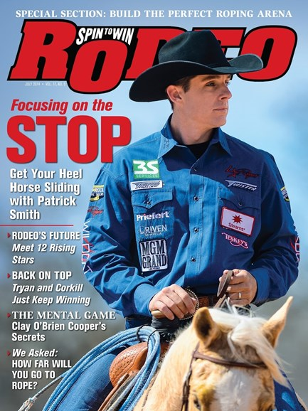 The Team Roping Journal Cover - 7/1/2014