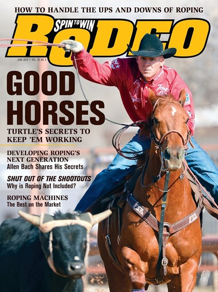 The Team Roping Journal Cover - 6/1/2014